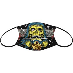 Municipal Waste - Unisex Schaller Skull Sublimated Face Mask