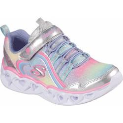 Skechers - Girls S Lights: Heart Lights - Rainbow Lux Shoes