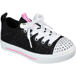 Skechers - Girls Twinkle Toes: Twinkle Sparks - Knit Shines Shoes