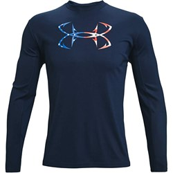Under Armour - Mens Iso-Chill Freedom Hook Long-Sleeve T-Shirt