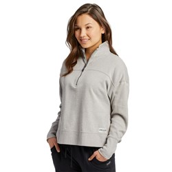 Life Is Good - Womens Life Is Good Raw French Terry Quarter Zip
