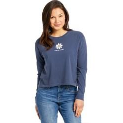 Life Is Good - Womens Lig Daisy Boxy Long Sleeve Crusher T-Shirt