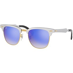 Ray-Ban RB3507 Unisex-Adult Clubmaster Aluminum Sunglasses