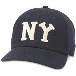 American Needle - Mens Ny Black Yankees Nl Snapback Hat