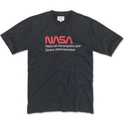 Red Jacket - Mens Nasa Brass Tacks 100% Cotton T-Shirt
