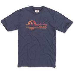 Red Jacket - Mens Arches Np Brass Tacks T-Shirt