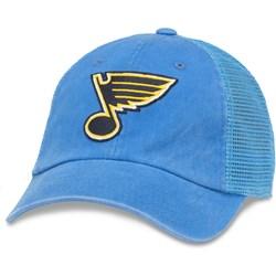 American Needle - Mens Stl Blues Raglan Bones Snapback Hat