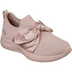 Skechers - Womens Bobs Sport Squad 2 - Bow Beauty Slip-On Shoes