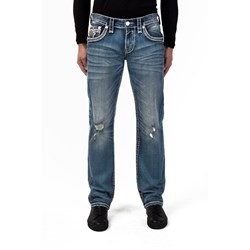 Rock Revival - Mens Silas J203 Straight Jeans