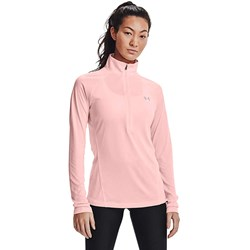 Under Armour - Womens Tech 1/2 Zip Twist Warmup Top