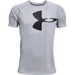 Under Armour - Boys Tech Split Logo Hybrid T-Shirt