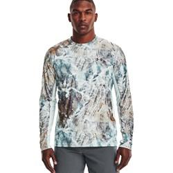 Under Armour - Mens Iso-Chill Shrbrk Camo Long-Sleeve T-Shirt