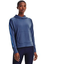 Under Armour - Womens Rival Terry Taped Long-Sleeve T-Shirt