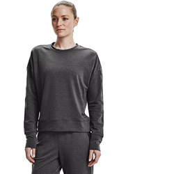 Under Armour - Womens Rival Terry Taped Crew Long-Sleeve T-Shirt