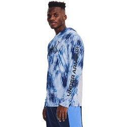 Under Armour - Mens Iso-Chill Shrbrk Camo Hdy Warmup Top