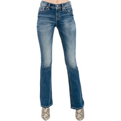 Miss Me - Womens M3812B Mid-Rise Boot Jeans