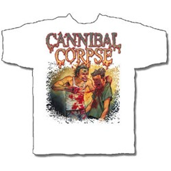 Cannibal Corpse - Disciple Mens T-Shirt In White