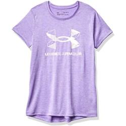 Under Armour - Girls Graphic Twist Big Logo T-Shirt