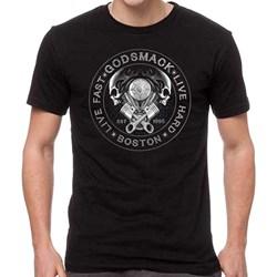 Godsmack - Mens Boston Live T-Shirt