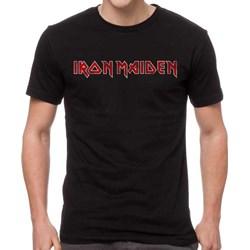 Iron Maiden - Mens Distressed Logo T-Shirt