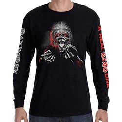 Iron Maiden - Mens A Real Dead One 3 Color T-Shirt