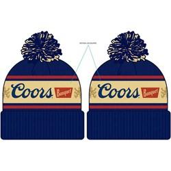 Coors - Unisex Pom Knit Beanie