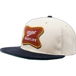 Miller - Mens High Life Softcross Patch Hat