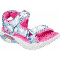 Skechers - Girls Rainbow Racer  - Summer Sky Shoes