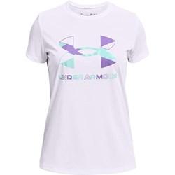 Under Armour - Girls Tech Graphic Big Logo T-Shirt