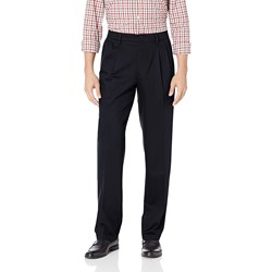 Dockers - Mens New Sig Stretch Classic Pleated Pant