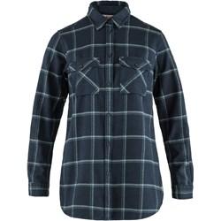 Fjallraven - Womens Ovik Twill Long Sleeve Shirt