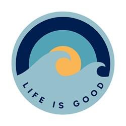 Life Is Good - Magnet Wave Sunrise Magnets