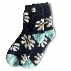 Life Is Good - Unisex Daisy Snuggle Snuggle Socks