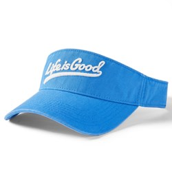 Life Is Good - Unisex Updated Visor Ballyard Script Hat