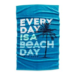 Life Is Good - Every Day Is A Beach Day Beach Towel