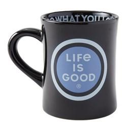 Life Is Good - Lig Coin Diner Coffee Mug