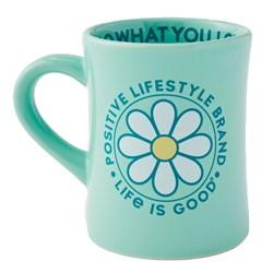 Life Is Good - Positive Lifestyle Diner Coffee Mug