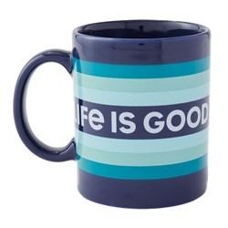 Life Is Good - Jake'S Lig Stripes Coffee Mug
