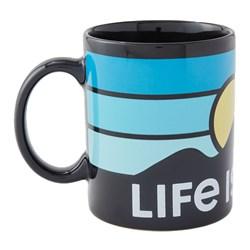 Life Is Good - Jake'S Mountain Patch Coffee Mug
