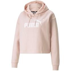 Puma - Womens Ess Cropped Logo Hoodie Fl