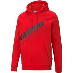 Puma - Mens Big Logo Hoodie Fl