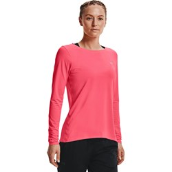 Under Armour - Womens Hg Armour Long Sleeve Long-Sleeves T-Shirt