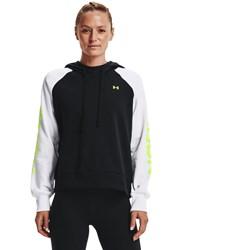Under Armour - Womens Rival Colorblock Hoodie Fleece Top