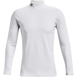 Under Armour - Mens Coldgear Armour Fitted Mock Long-Sleeve T-Shirt
