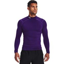 Under Armour - Mens Coldgear Armour Compression Mock Long-Sleeve T-Shirt
