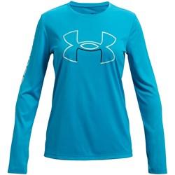 Under Armour - Girls Tech Big Logo Long-Sleeve T-Shirt