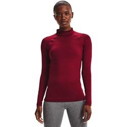 Under Armour - Womens Authentics Mock Neck Long-Sleeve T-Shirt
