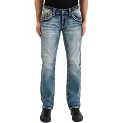 Rock Revival - Mens Ralph J201 Straight Jeans