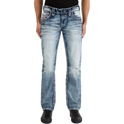 Rock Revival - Mens Zachary J200 Straight Jeans