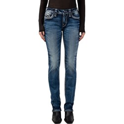 Rock Revival - Womens Star Fish RP2807J202 Straight Jeans